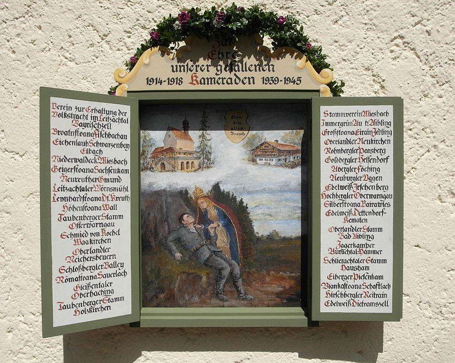 renovierte Gedenktafel 2013